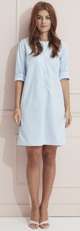 Oversize shirtdress